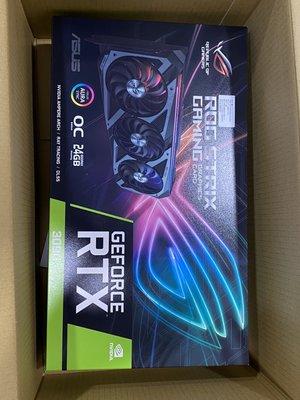 現貨 華碩顯示卡 RTX3090 ROG-STRIX-RTX3090-O24G-GAMING 全新