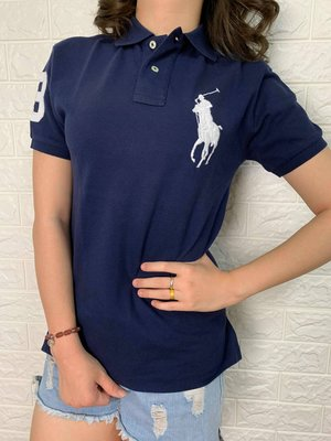 Look 鹿客 POLO Ralph Lauren 女款經典款數字3大馬POLO衫