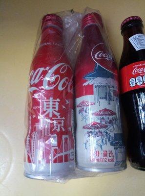 可口可樂記念樽3支