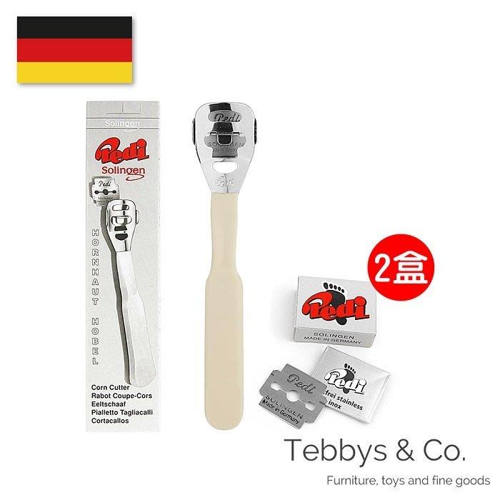 {Tebbys&Co.}德國製造㊣  PEDI 經典刮腳皮刀(含刀片組) TBDL89