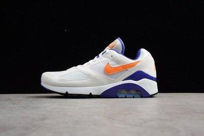 Nike Air Max 180 Ultramarine OG 615287-101 氣墊 白藍橘 慢跑鞋
