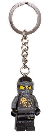 現貨【LEGO 樂高】2016 最新款 美國官網正品 積木 鑰匙圈 人偶 吊飾/ 忍者系列 黑忍者 Cole