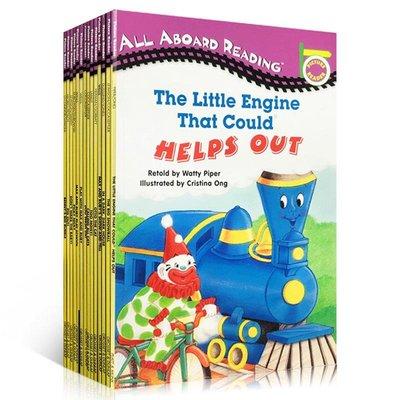 附詞卡 英文原版入門級12本Penguin group All aboard reading picky nicky,d