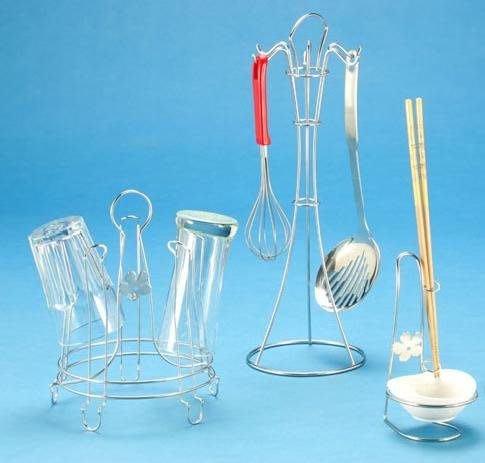 ☆成志金屬☆特惠套餐組#304不鏽鋼杯架+餐具湯匙架+公筷公匙架,超值合購套餐組