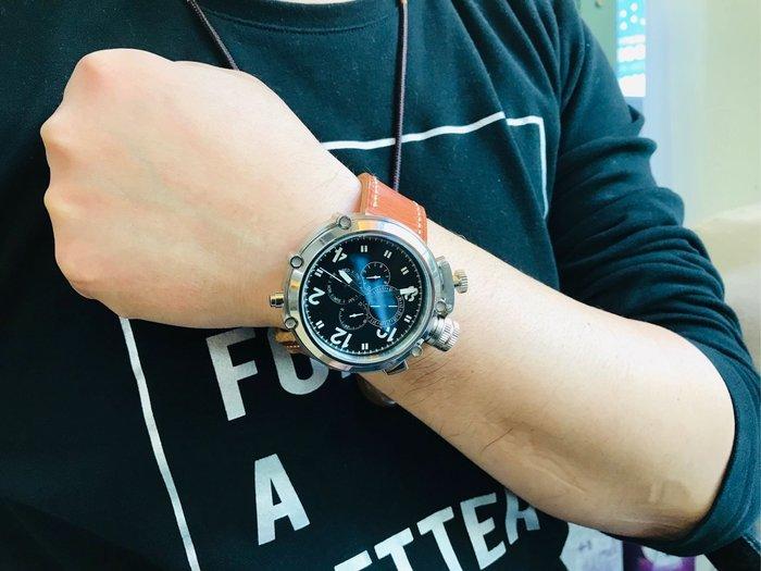 【六樓先生 Mr.sixth】50MM大錶盤潛艇兵系列 自動機械男錶- 霸氣十足 黑面白面 parnis