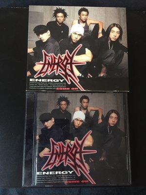 【咿呀二手館】團體-Energy-come on專輯CD+個人寫真明信片6張