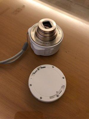 二手良品 Sony 原廠 Cyber-shot DSC-QX10 QX10 白 外接式鏡頭相機 含原廠電池 附線附卡