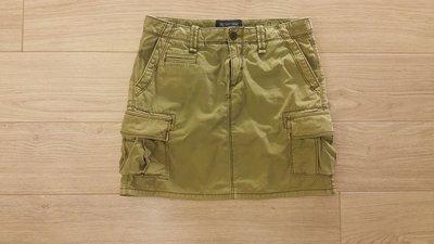 POLO JEANS RALPH LAUREN軍綠色口袋工作裙-26