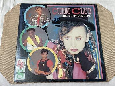 【李歐的音樂】Virgin唱片 1983年 CULTURE CLUB COLOUR BY NUMBERS 黑膠唱片