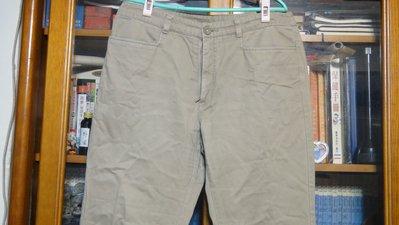買來少穿GIO KHAKIS如新卡其色厚牛仔褲29號