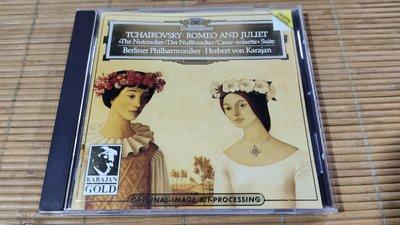 好音悅 24K PURE GOLD 純金CD 卡拉揚 柴可夫斯基 羅密歐與茱麗葉幻想序曲 胡桃鉗組曲 日版 無IFPI