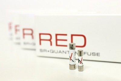老美Synergistic Research第一線 SR RED 紅點 發燒保險絲 保險管 音響電容 音響線 音響電子管