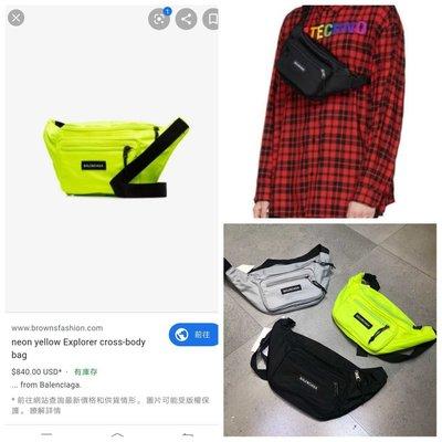 $599 - bag balen**** 原單 19最新款 explorer 防水尼龍  3色多用途 潮腰包 袋 包 belt bag 手袋 男女合用 men