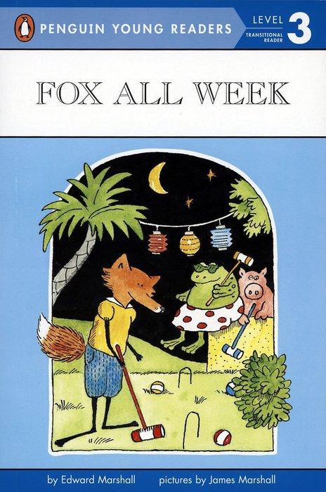 *小貝比的家*FOX ALL WEEK /LEVEL 3 /平裝/7~12歲/第三階