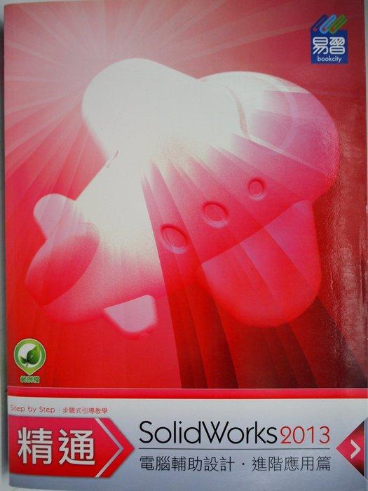 【月界二手書店】精通 SolidWorks 2013 進階應用篇(絕版)_陳俊鴻_易習出版_原價550〖電腦繪圖〗AFS