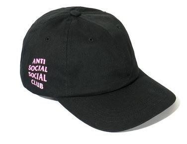 【日貨代購CITY】2017AW Anti Social Social Club WEIRD CAP HAT 黑粉 現貨