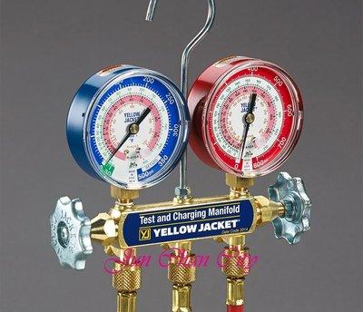 R410 冷媒雙錶組 含5尺加氣管 YELLOW JACKET 美國進口 2017新版