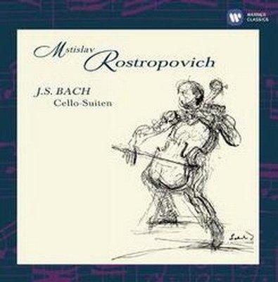【店長推薦】 巴哈無伴奏大提琴組曲/羅斯托波維奇 ROSTROPOVICH 2CD-2564624199