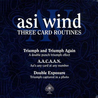 【天天魔法】【S703】正宗原廠~三個紙牌神序~Three Card Routines by Asi Wind~