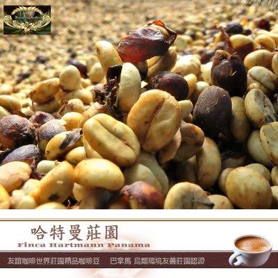客製65磅熟豆精品哈特曼莊園咖啡豆100%原豆Panama Finca Hartmann 附發票698免運費友誼咖啡