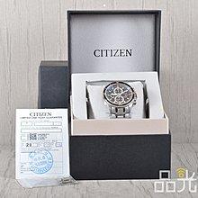 【品光數位】CITIZEN 星辰 CA0349-51L Eco-Drive光動能 鈦金屬 藍寶石 計時腕錶 #95242