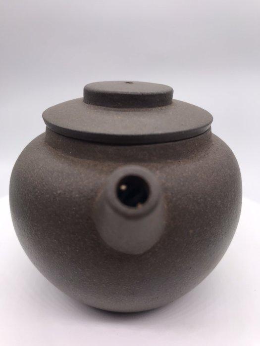 民國初年(日式巨輪朱)紫砂老茶壺