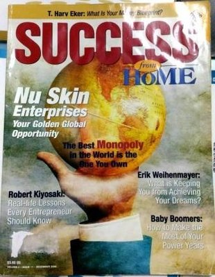 SUCCESS MAGAZINE雜誌2006/12nuskin enterprises