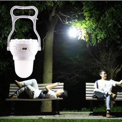【免運】帳篷燈 康銘 帳篷燈露營燈可充電應急燈家用營地戶外野營LED照明馬燈~『金色年華』