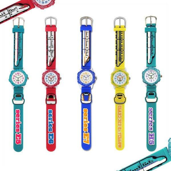 《FOS》日本 PLARAIL 新幹線 兒童 手錶 可愛 JR鐵道 孩童 男孩最愛 開學 禮物 熱銷