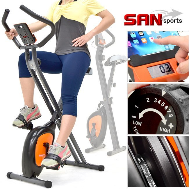 超大座墊X磁控健身車BIKE飛輪車【推薦+】美腿機運動器材A折疊車自行車摺疊車腳踏車C149-040另售電動跑步機踏步機