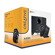聖誕禮物! LK SOUND 最後一對! 全新行貨 CREATIVE A320 2.1 Speaker 電腦喇叭