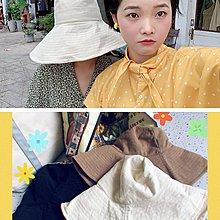 袁先生の家 遮住你整張臉甚至肩膀!帽沿Super大的遮陽防曬漁夫帽