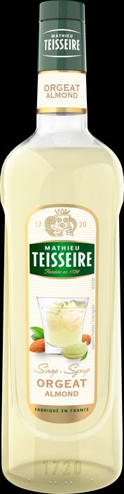 Teisseire 糖漿果露-杏仁風味 Almond Syrup  法國頂級天然糖漿 700ml-【良鎂咖啡精品館】