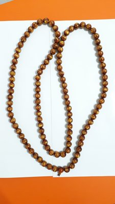 【九龍藝品】金海柳108顆念珠 ~ 珠子約16mm/重量約283公克【 1 】