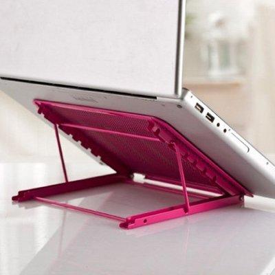Lovus-六段式可調節折疊筆電支架/IPAD支架 散熱座