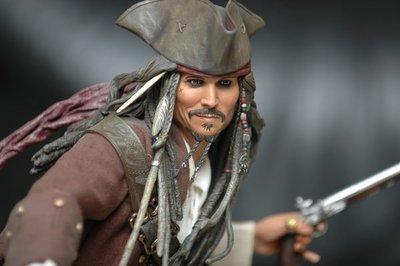 【烏龍1/2】sideshow  迪士尼 神鬼奇航 幽靈海 Captain Jack Sparrow 傑克 海盜 船長 1:4 pf 雕像