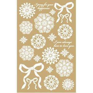 《散步生活雜貨-文具散步》最新上市 日本進口 My decorations 標籤貼紙-針織花邊絲帶