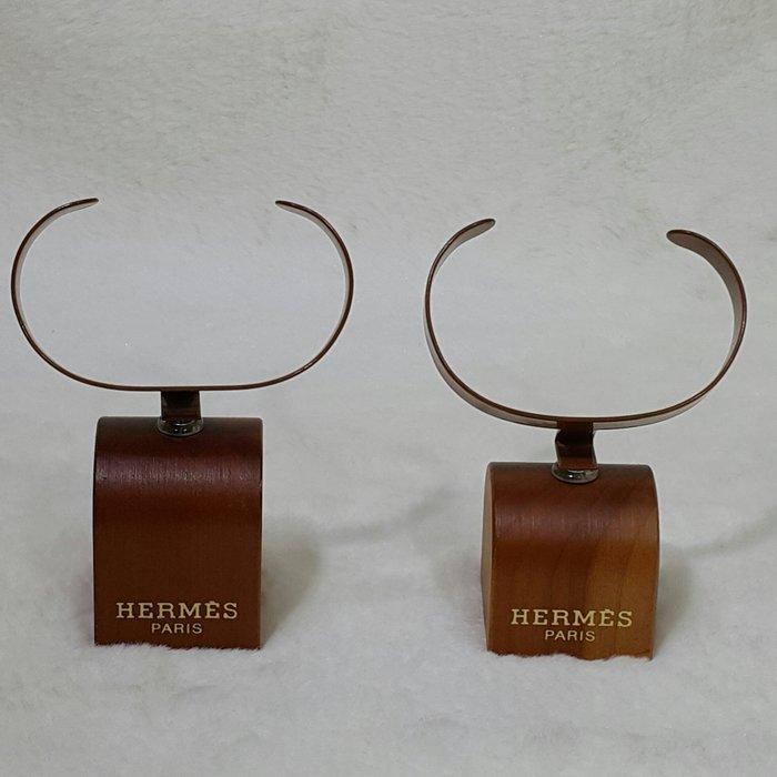 *旺角名店* Hermes 實木底座 錶架 手環架 陳列架
