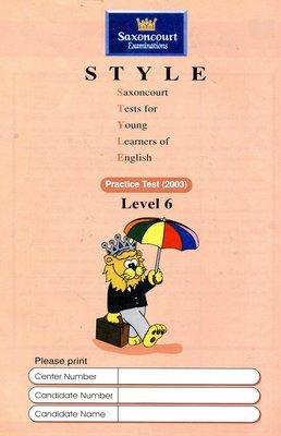 師德英文檢定 STYLE 《6》Saxoncourt Examinations Practice Test (附CD)