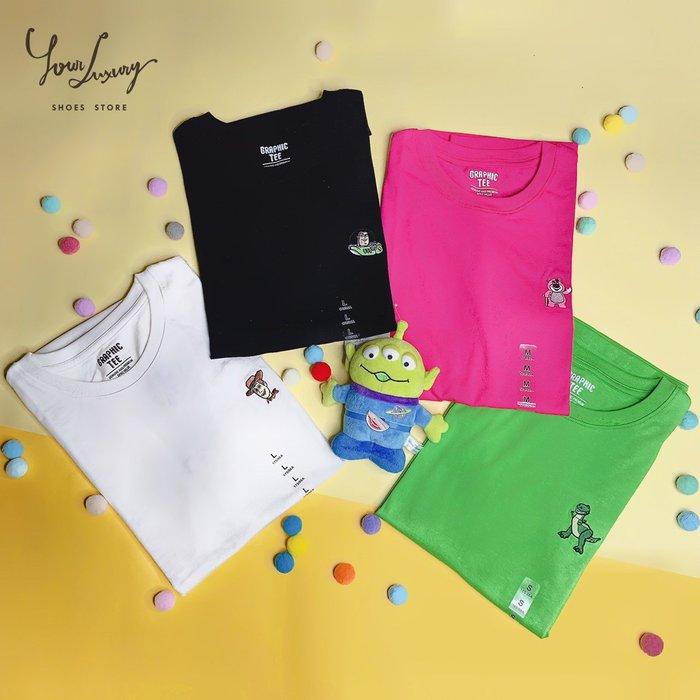 【Luxury】韓國代購 SPAO x 玩具總動員 8款 刺繡圖案 迪士尼 皮克斯 純棉T恤 男女 情侶款 正品