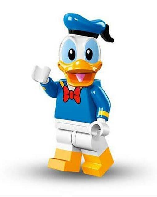 現貨【LEGO 樂高】Minifigures人偶系列: 迪士尼Disney 人偶包抽抽樂71012| 唐老鴨Donald