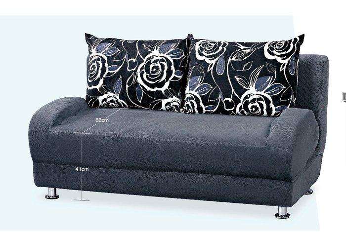 【DH】BC152-2坐臥兩用沙發床~優雅設計,讓空間更舒適。