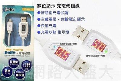 #網路大盤大#數位顯示 電壓電流 USB 傳輸線 充電線 數據線 HTC 三星 SONY ASUS 小米 新莊自取