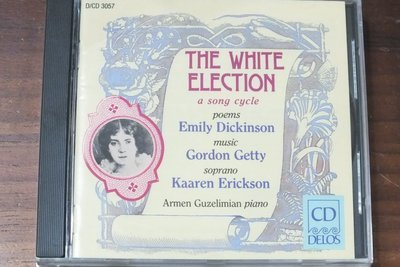 Delos-Getty:the white election-美版,無IFPI
