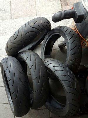 可刷卡 前輪 裝到好 110 70 12吋 中古胎 瑪吉斯 優耐力 熱熔胎 正新 輪胎 二手胎 原廠胎