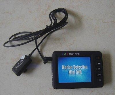 辦案現場 搖控啟動 鈕扣針孔CCD鏡頭攝影機2.5吋DVR監視器行車紀錄器 台北市
