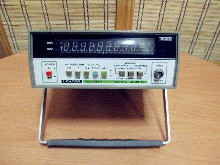 康榮科技二手測試儀器領導廠商Leader LDC823A 10Hz-250MHz Digital Counter