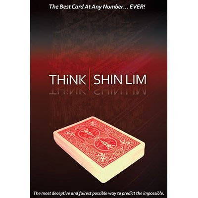 【意凡魔術小舖】美國原廠 ~ Think by Shin Lim ~ 近距離最好CAAN ~ 獨家引進 ~ 附中文輔助說明
