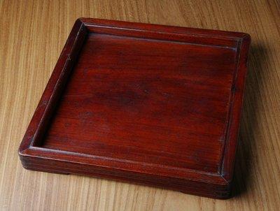 古董 紅木 茶盤 木雕 藝術品 托盤 ...