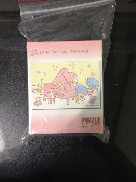 全新 正版 LITTLE  TWIN STARS 雙子星 KIKILALA KIKI LALA 快樂音樂會 拼圖